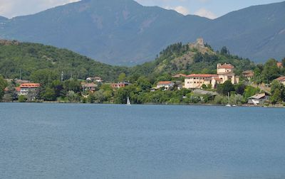 Avigliama, panorama dal lago grande