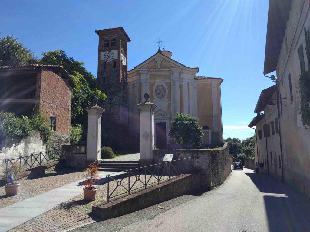 Colleretto Giacosa, Santa Croce