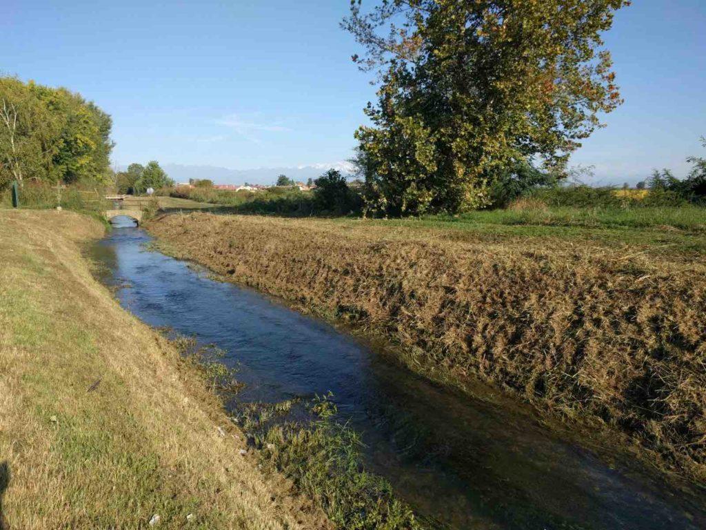 Olcenengo (Vercelli), un canale